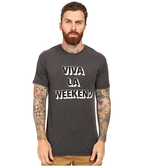 The Original Retro Brand Short Sleeve Heathered Viva La Weekend Tee