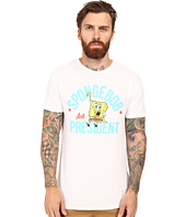 The Original Retro Brand - Short Sleeve Vintage Cotton Spongebob For Pres Tee