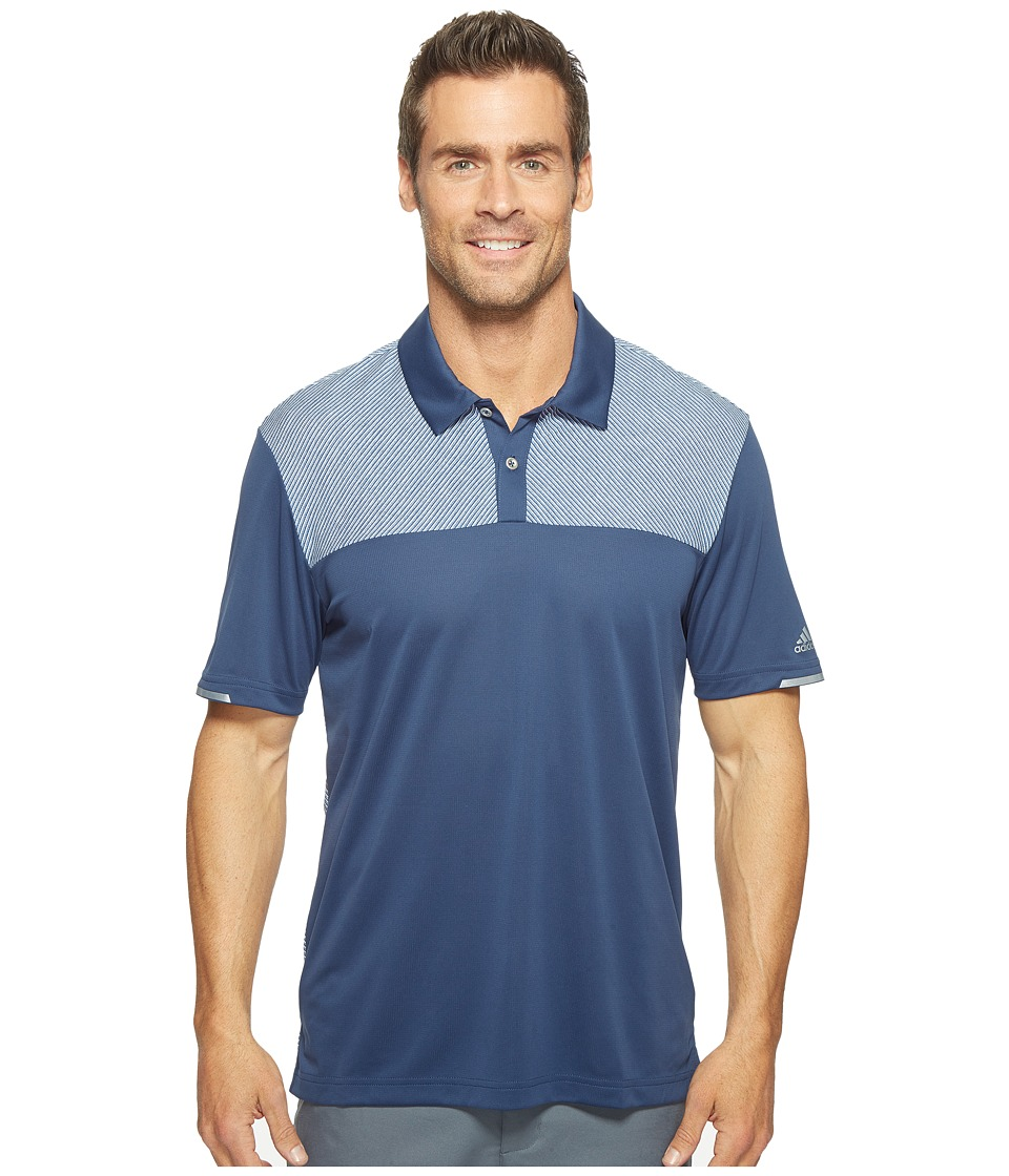 adidas Golf - Climachill Heather Block Competition Polo