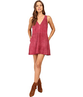 Free People - Retro Love Suede Dress