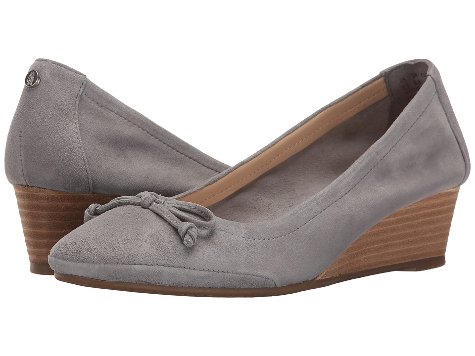 Hush Puppies Kacie Martina (Frost Grey Suede) Women