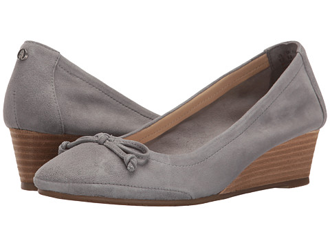 Hush Puppies Kacie Martina - Frost Grey Suede