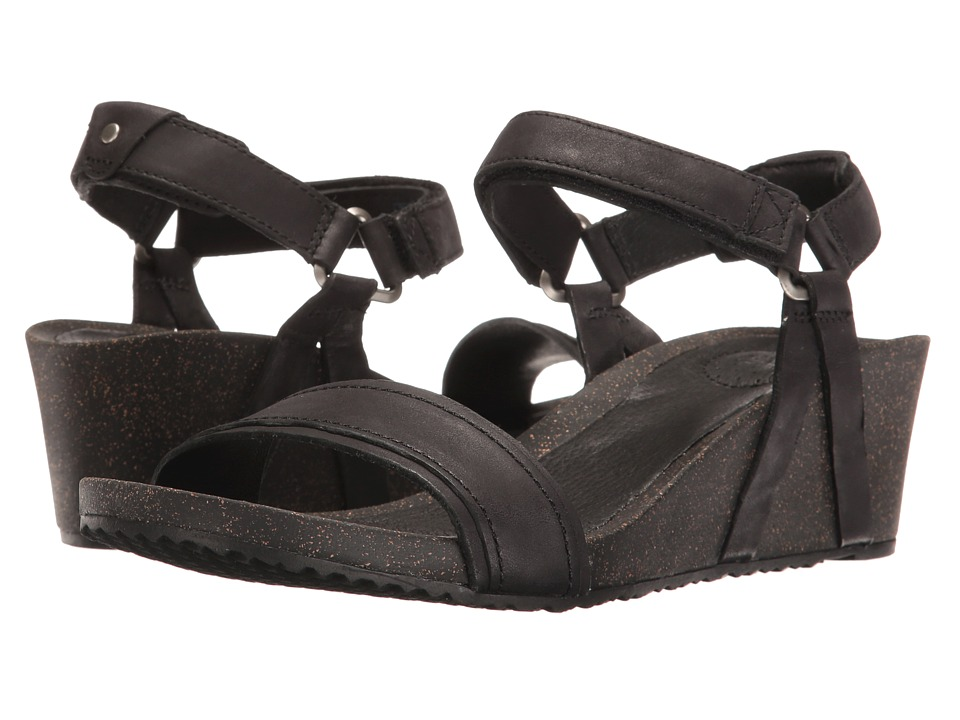 Teva Ysidro Stitch Wedge (Black) Wedges
