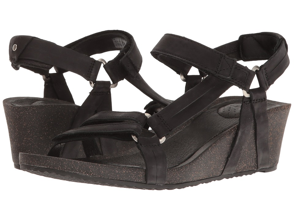 Teva Ysidro Universal Wedge (Black) Wedges