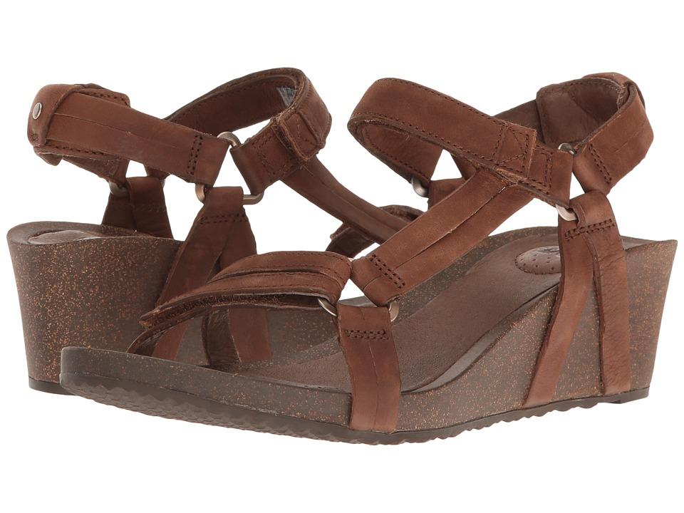 Teva Ysidro Universal Wedge (Brown) Women's Wedge Shoes