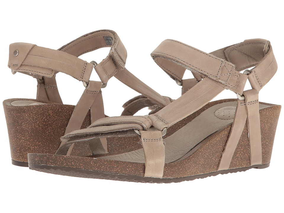 Teva Ysidro Universal Wedge (Taupe) Wedges
