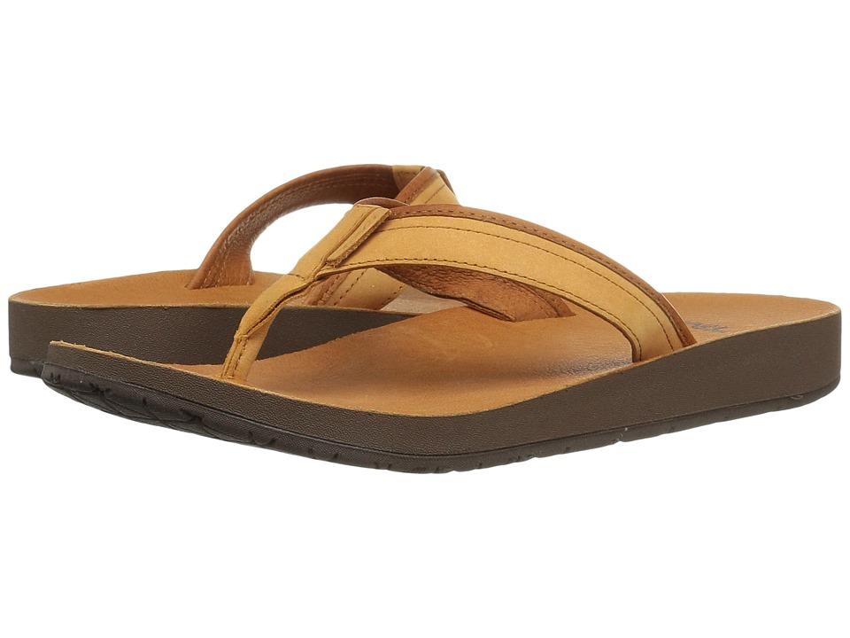 Teva Azure Flip Leather (Tan) Women