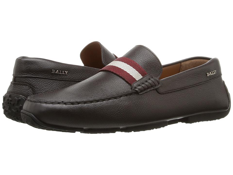 Bally Pearce Driver (Brown) Men's Shoes