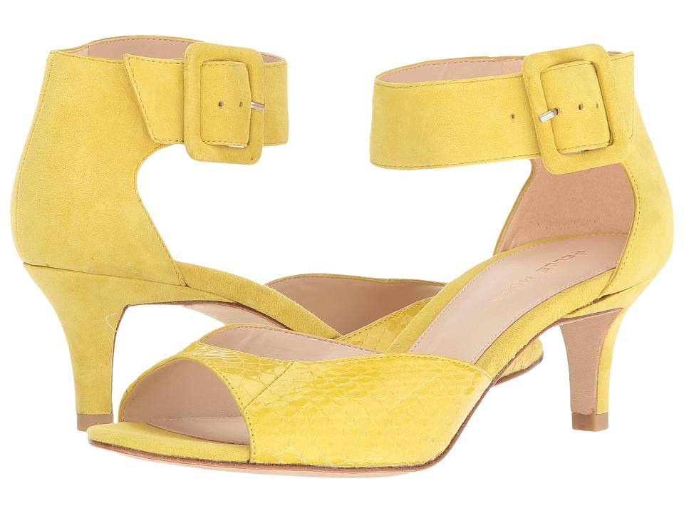 Pelle Moda Berlin (Citrus Snake/Suede) High Heels