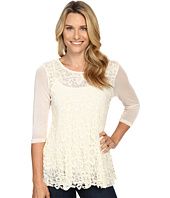 Scully - Cambria Lace and Sheer Top