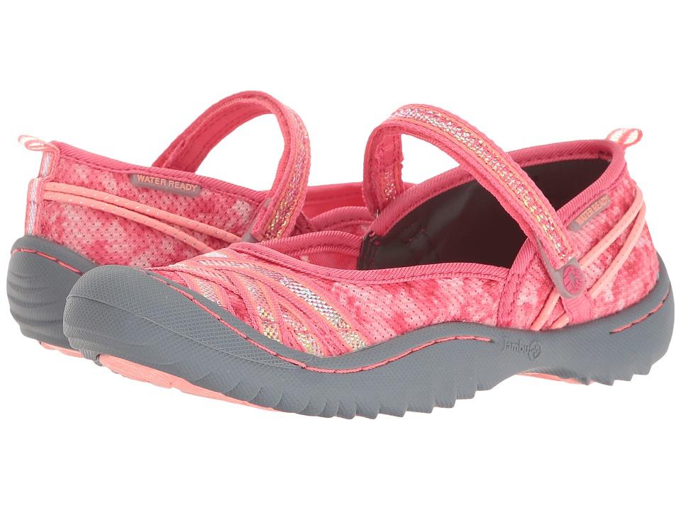 Jambu Kids Fia (Toddler/Little Kid/Big Kid) (Pink Floral) Girls Shoes
