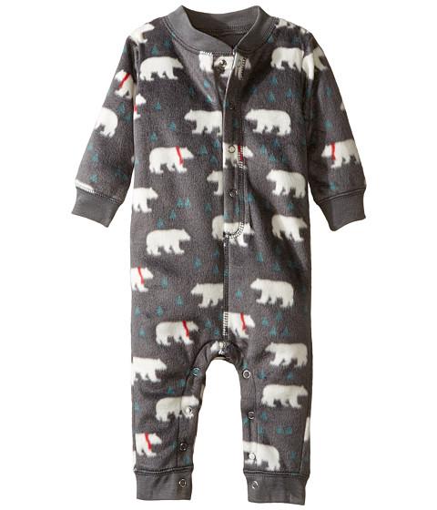 P.J. Salvage Kids Polar Fleece Romper - Polar Bear (Infant)