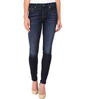 7 For All Mankind - The Skinny w/ Tonal Navy Squiggle in Dark Canterbury