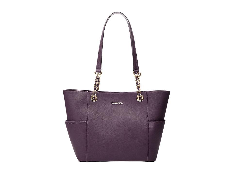 Calvin Klein - Key Items H3DA11HU (Acai) Tote Handbags
