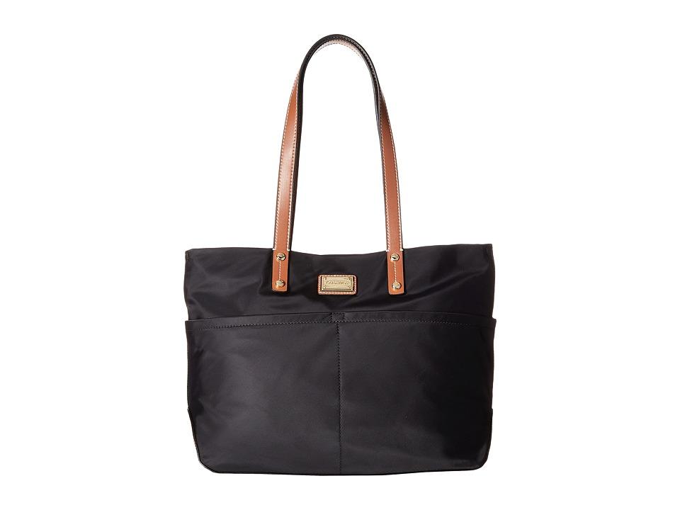 Calvin Klein - Nylon Tote (Black/Black) Tote Handbags