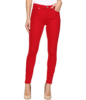 7 For All Mankind - The Ankle Skinny w/ Contour Waist Band in Fruit Punch