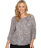 MICHAEL Michael Kors - Plus Size Hamilton Peasant Top