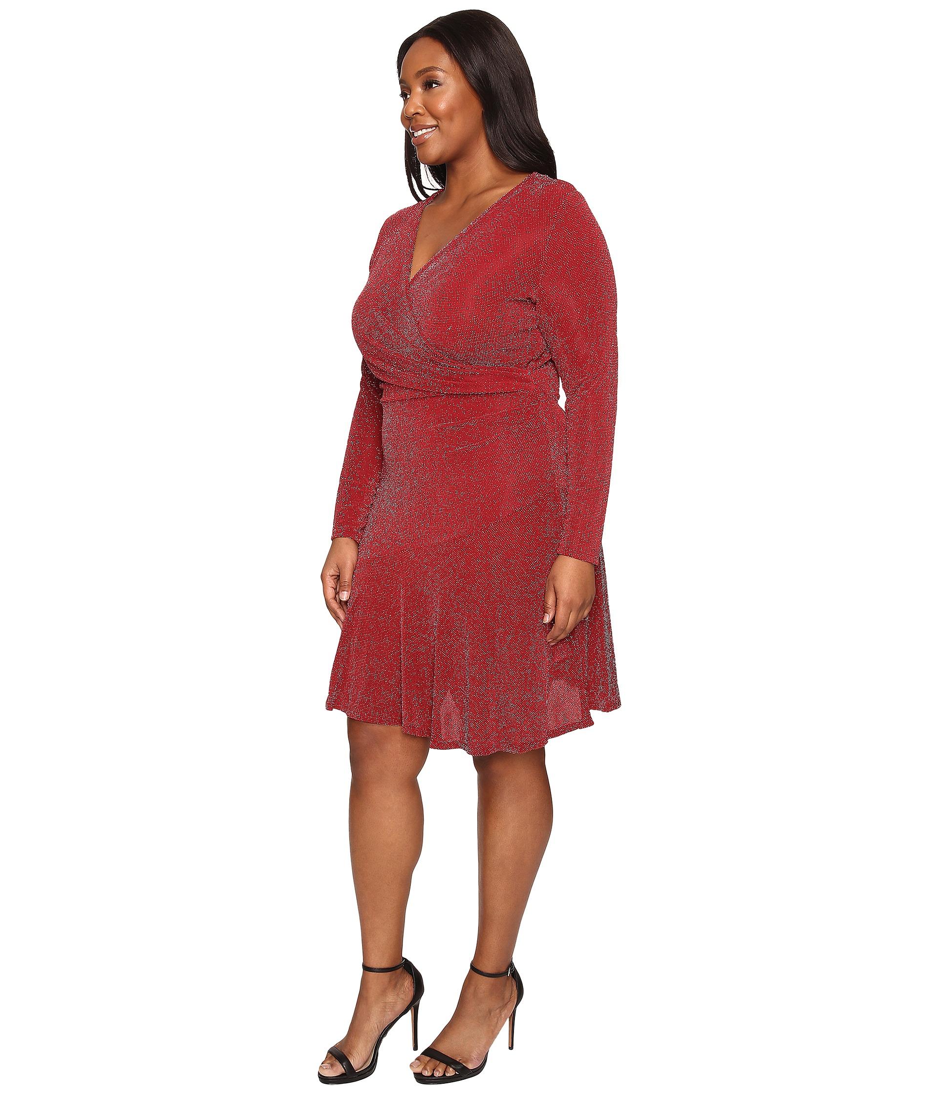 Michael Michael Kors Flounce Sleeve Dress