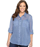 MICHAEL Michael Kors - Plus Size Button Down Top