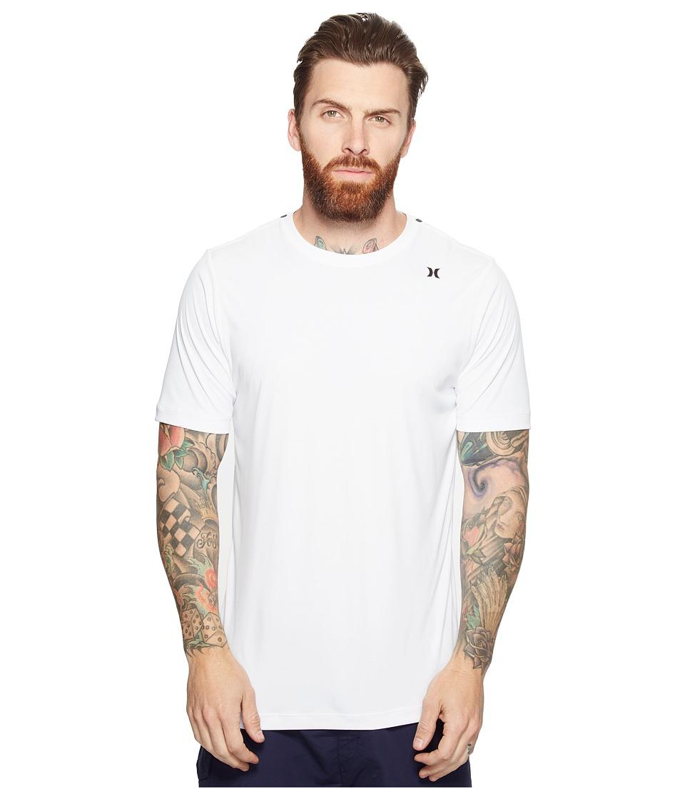Hurley - Dri-Fit Icon Surf Shirt (White) Mens Clothing