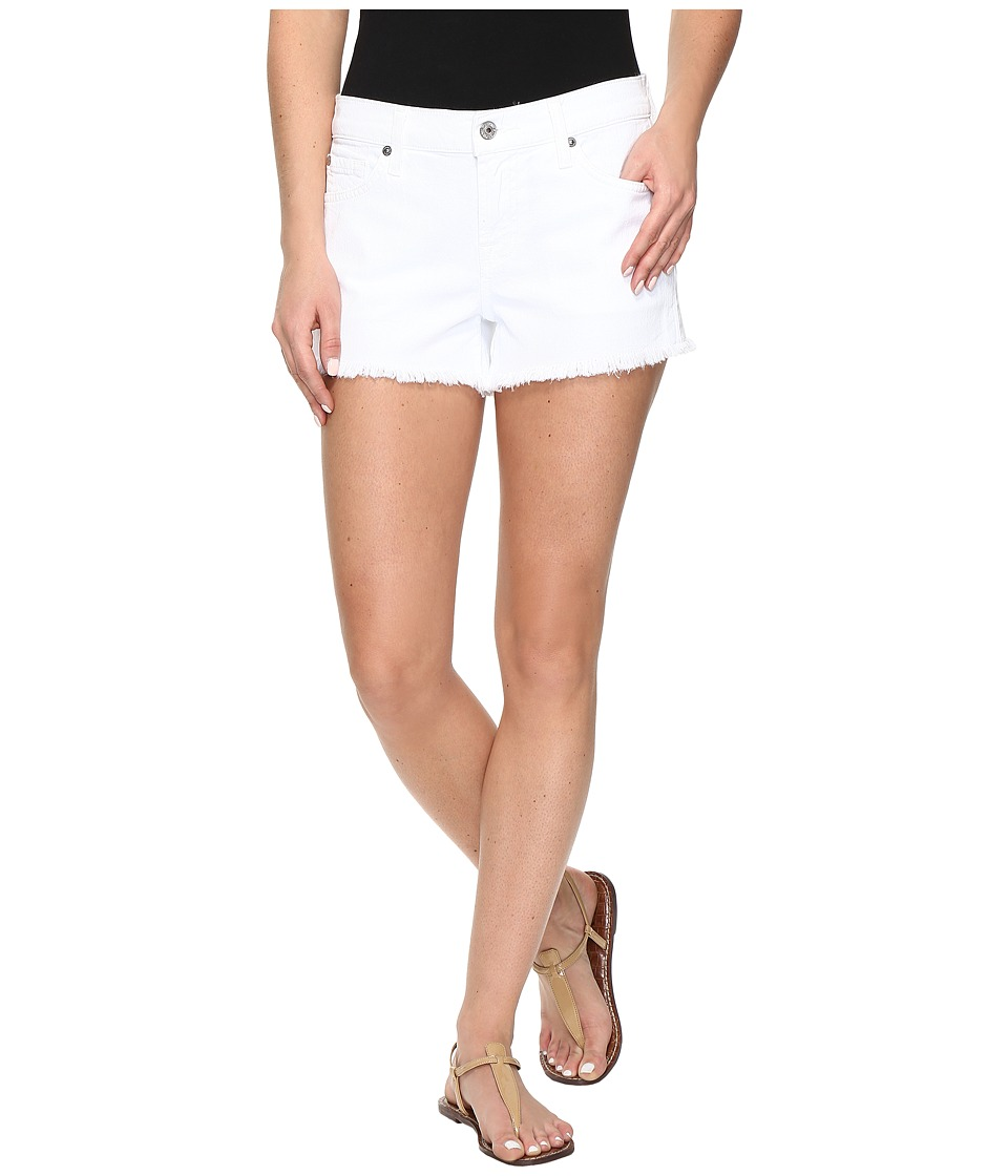 7 For All Mankind - Cut Off Shorts in Clean White