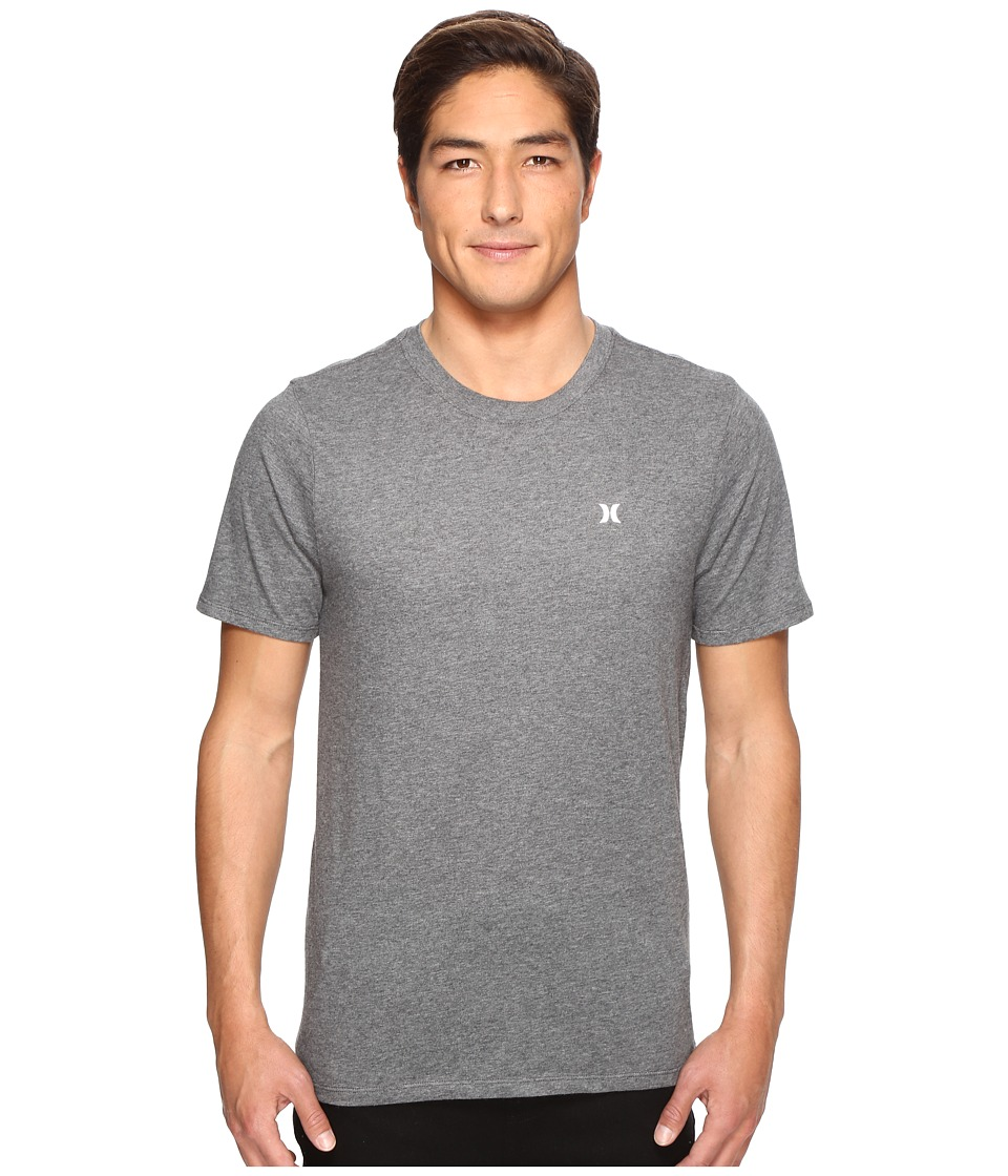 Hurley Icon Dri-Fit Tee (Charcoal Heather) Men