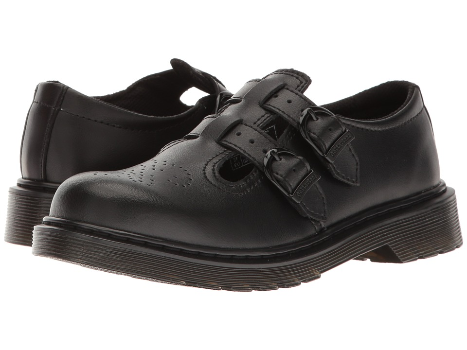 Dr. Martens Kid's Collection 8065 Mary Jane (Big Kid) (Black T Lamper) Girls Shoes