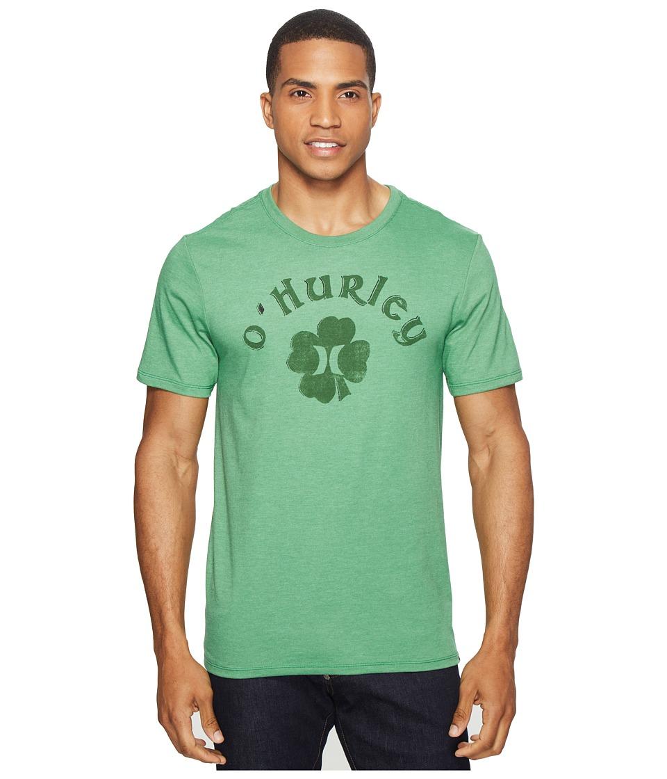 Hurley Borderluck Tee (Gym Green) Men