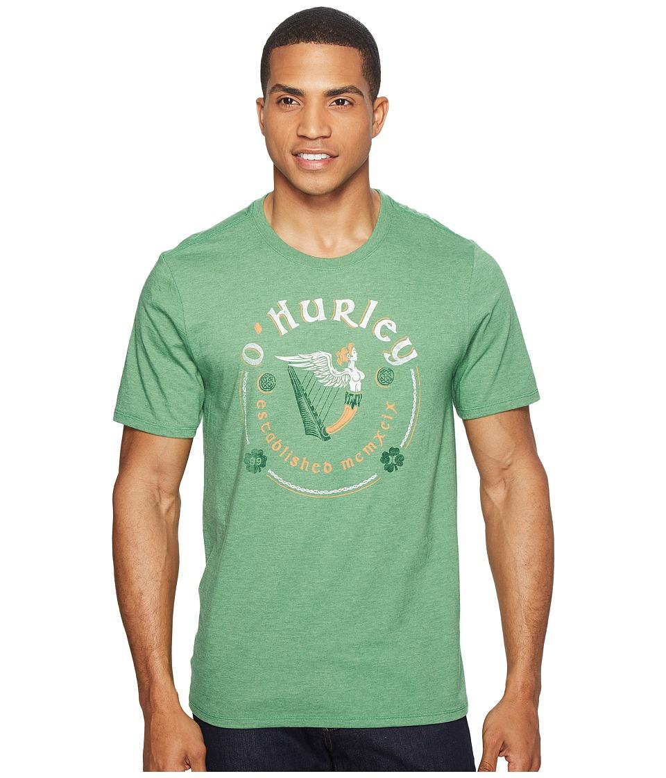 Hurley Yea Bragh Tee (Gym Green) Men