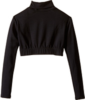 Capezio Kids - Team Basic Turtleneck Long Sleeve Top (Little Kids/Big Kids)