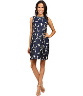 Ivanka Trump - Jewel Neck Jacquard Dress