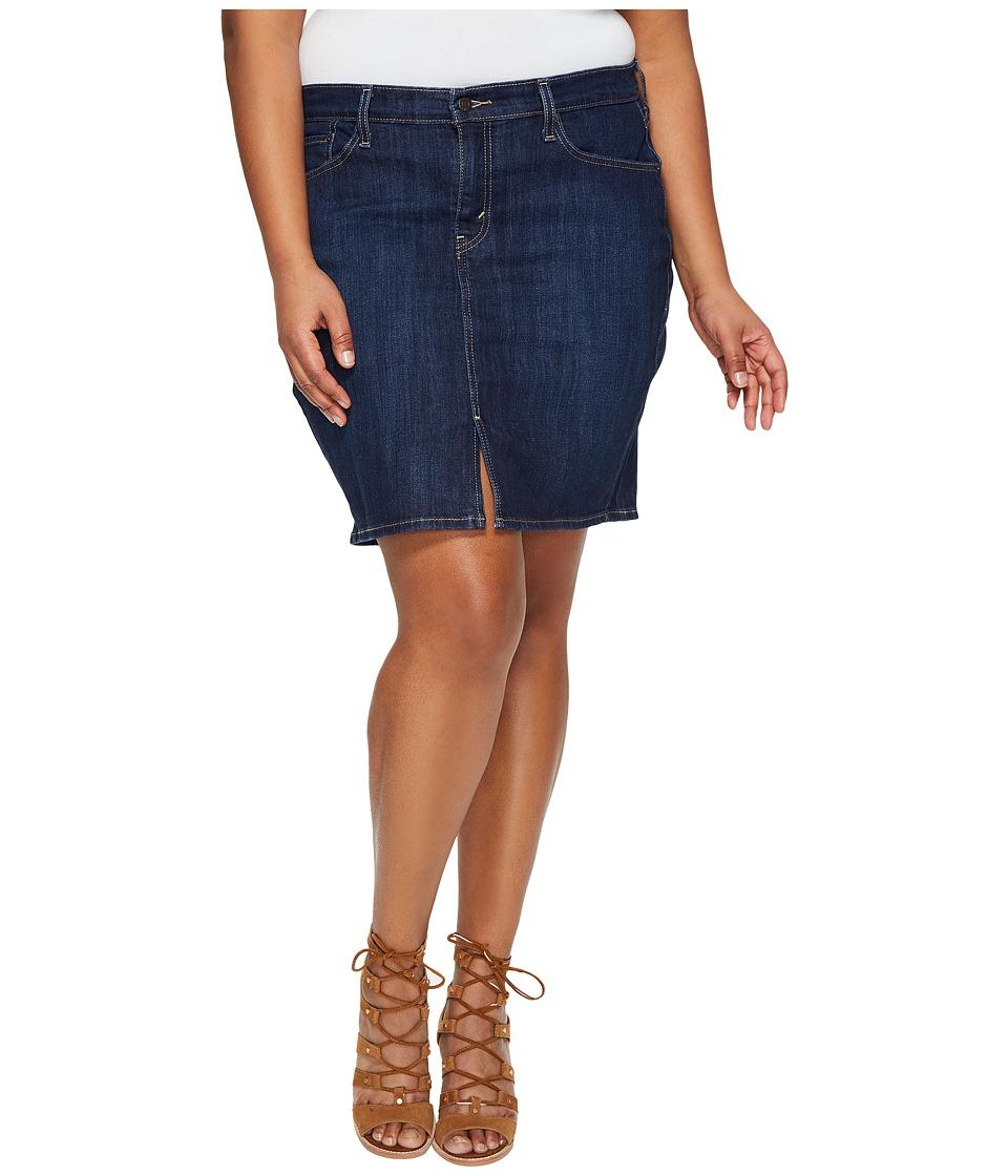 Levis(r) Plus - Icon Skirt (Moonside Coast) Womens Skirt
