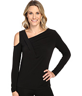 Ivanka Trump - Long Sleeve Matte Jersey with Cold Shoulder