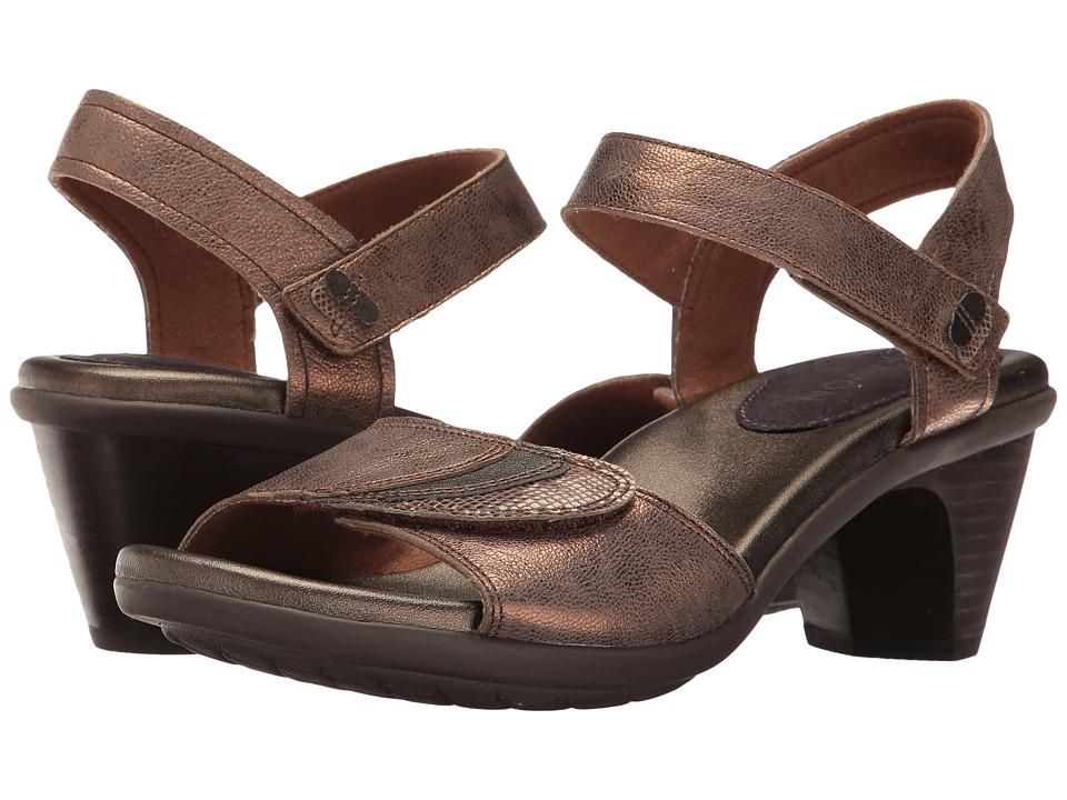 Aravon Medici Sandal (Bronze) Sandals