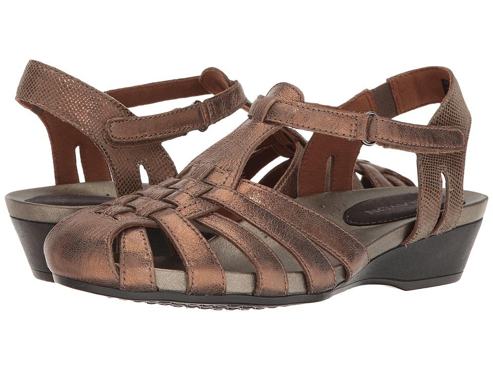 Aravon - Standon Fisherman (Bronze) Women's Sandals