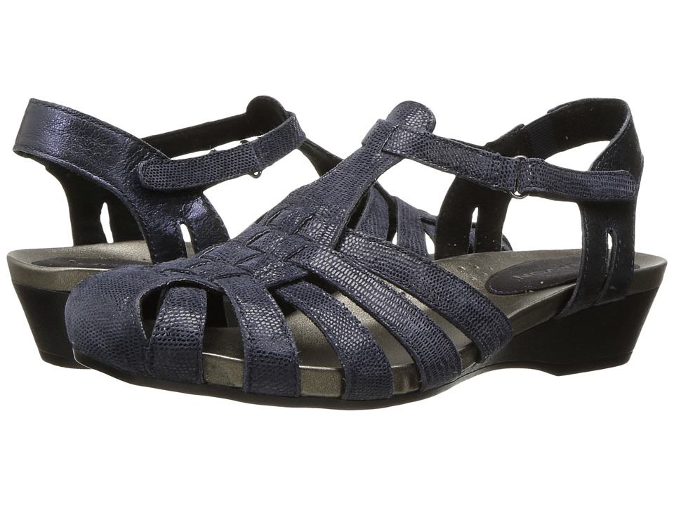 Aravon Standon Fisherman (Blue) Sandals