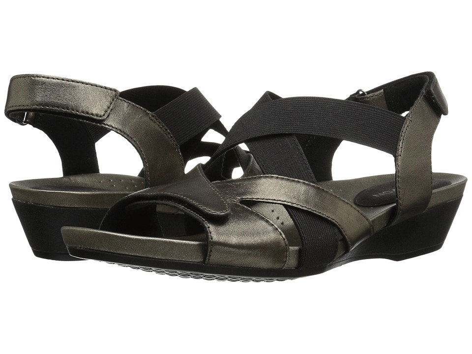 Aravon Standon X Strap (Pewter) Sandals