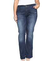 KUT from the Kloth - Plus Size Natalie High-Rise Bootcut Jeans in Adaptive