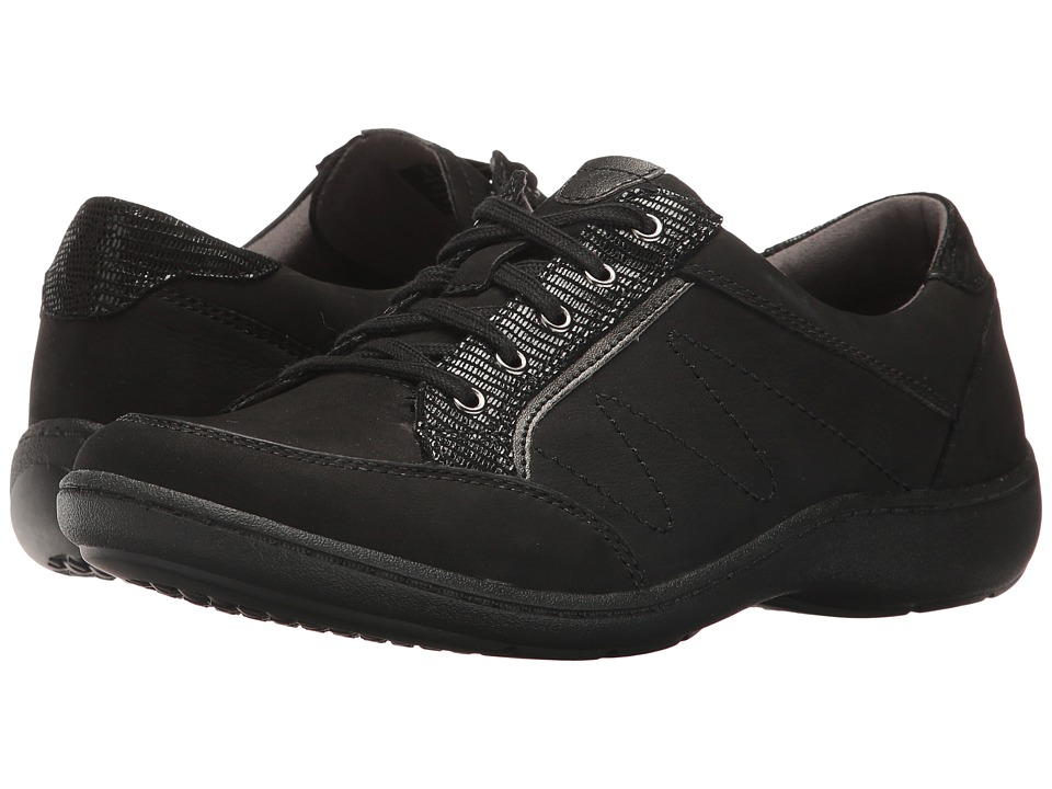 Aravon Bromly Oxford (Black) Women's Lace up casual Shoes