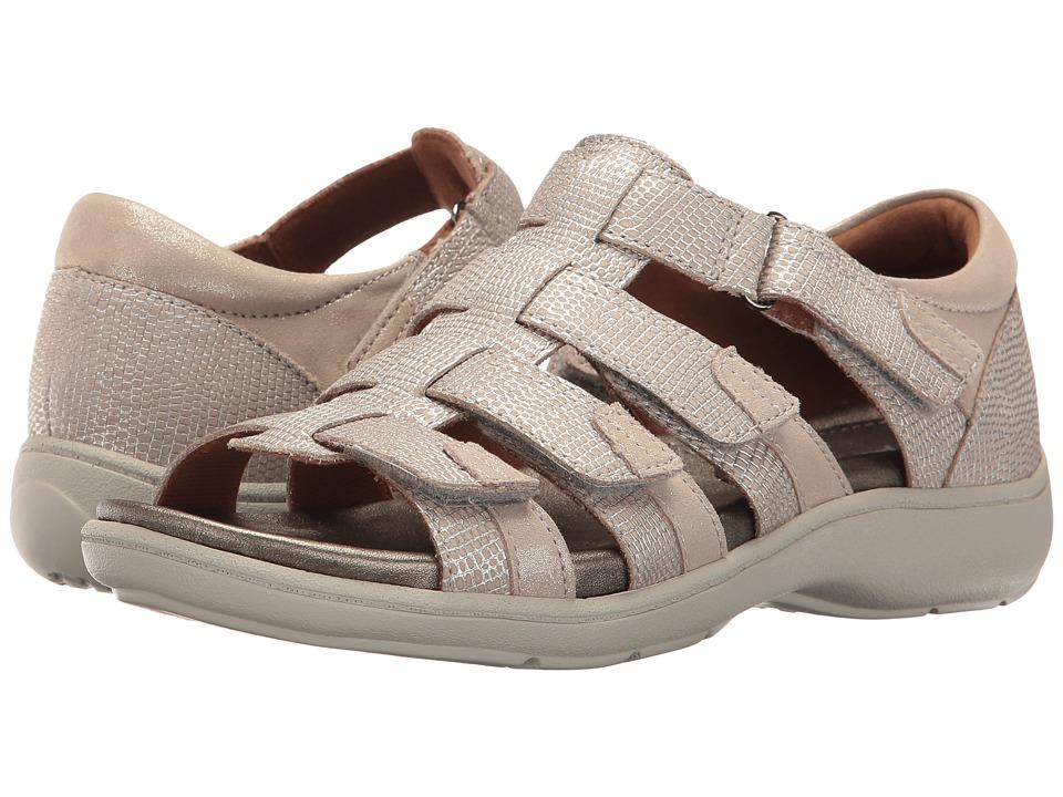 Aravon Bromly Gladiator (Taupe) Women's Sandals