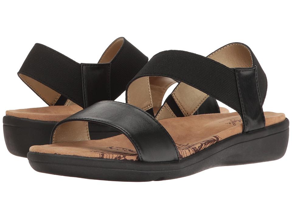 Soft Style Prema (Black) Sandals