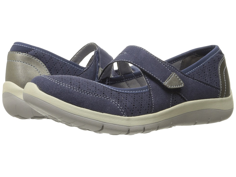 Aravon Wembly Mary Jane (Blue) Maryjanes