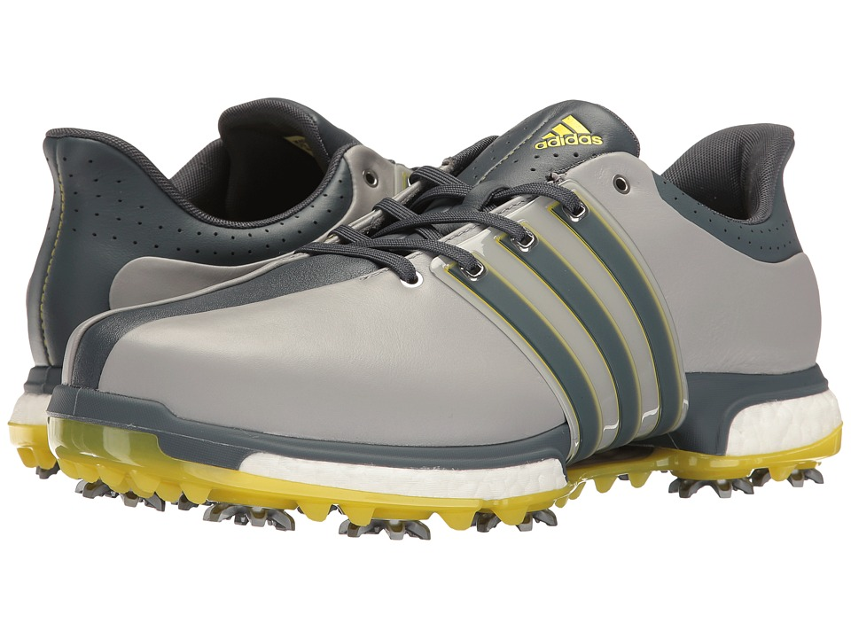 adidas Golf Tour360 (Light Onix/Bold Onix/Vivid Yellow) Men