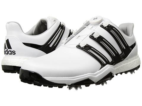 adidas Golf Powerband Boa Boost - Ftwr White/Core Black/Silver Metallic