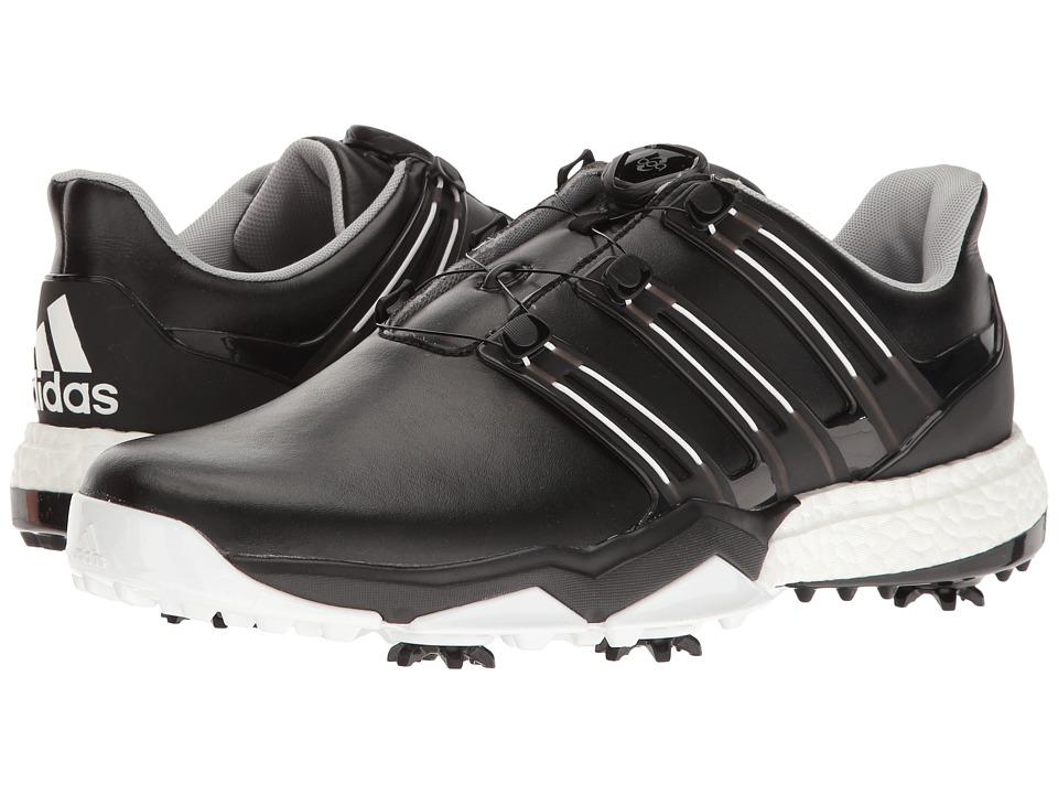 adidas Golf Powerband Boa Boost (Core Black/Core Black/Ftwr White) Men