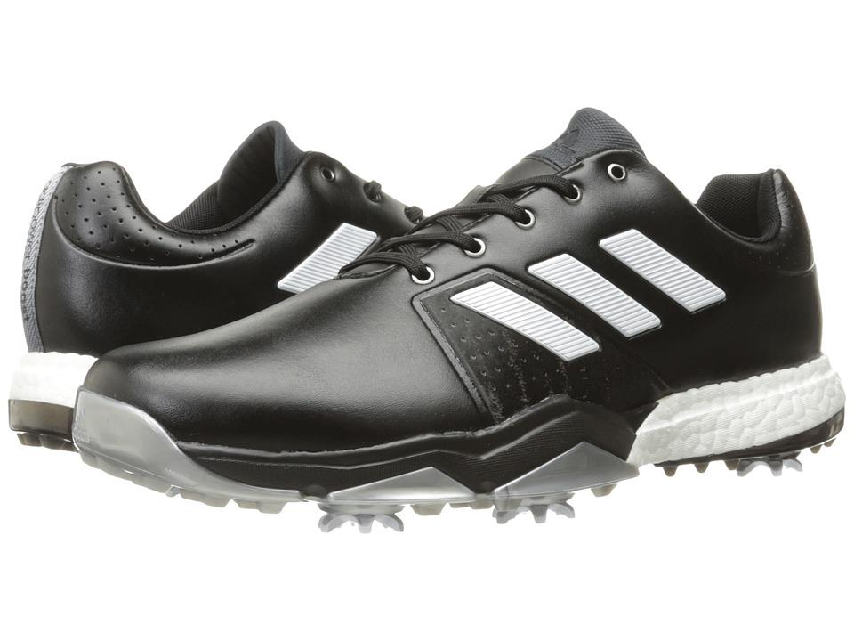 adidas Golf Adipower Boost 3 (Core Black/Ftwr White/Silver Metallic) Men