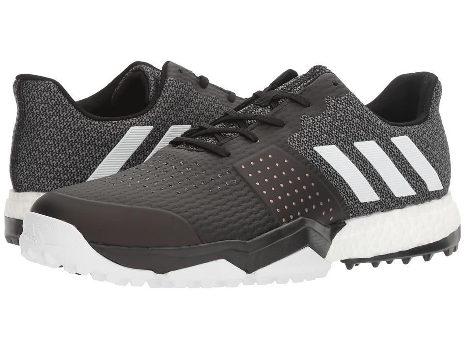 adidas Golf Adipower S Boost 3 (Core Black/FTWR White/Core Black) Men
