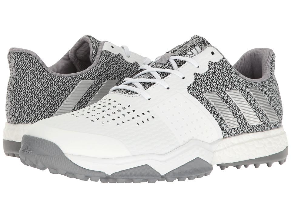adidas Golf Adipower S Boost 3 (FTWR White/Silver Metallic/Light Onix) Men
