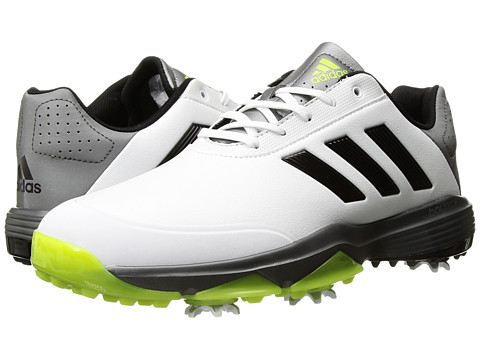 adidas Golf Adipower Bounce - Ftwr White/Core Black/Solar Slime