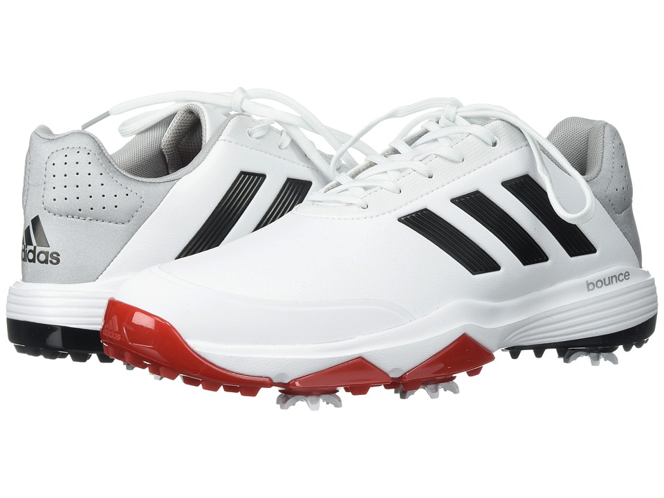 adidas Golf Adipower Bounce (FTWR White/Core Black/Scarlet) Men